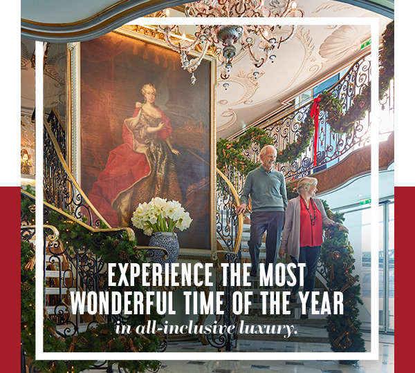 Experience the most wonderful time of the year in all-inclusive luxury.