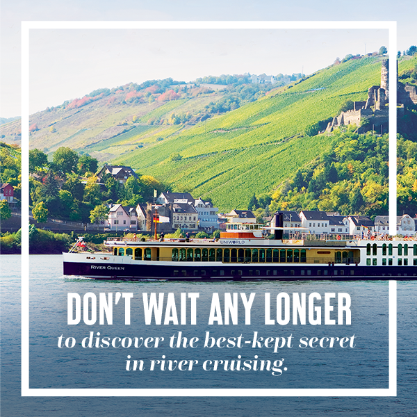 Don't wait any longer to discover the best-kept secret in river cruising.