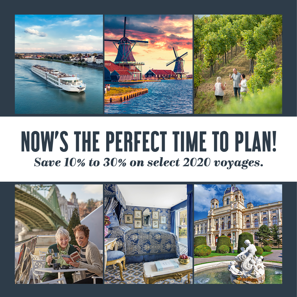 Now's the perfect time to plan!