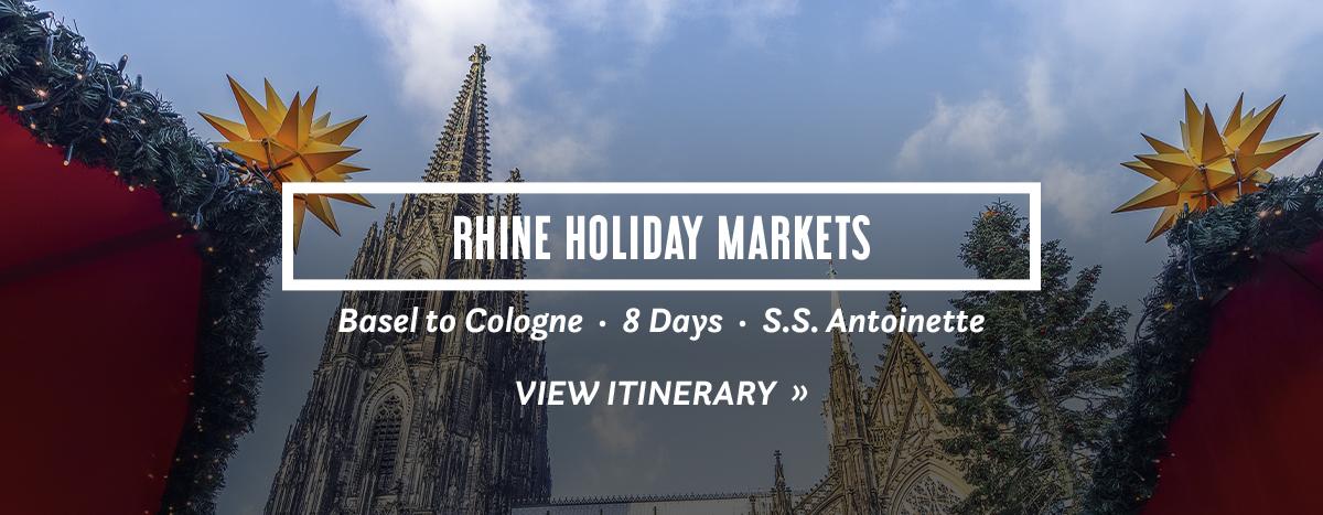 Rhine Holiday Markets