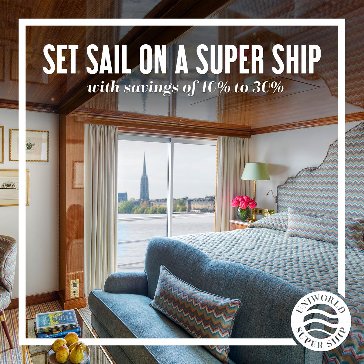 Set Sail On A Super Ship