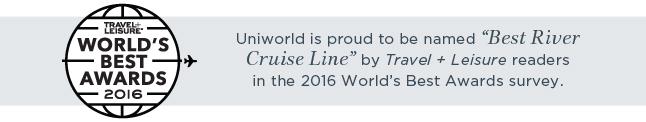 Travel + Leisure World's Best Awards 2016