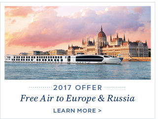 2017 Free Air to Europe & Russia - Learn More!