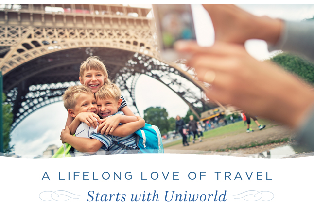 A Lifelong Love Of Travel Starts With Uniworld