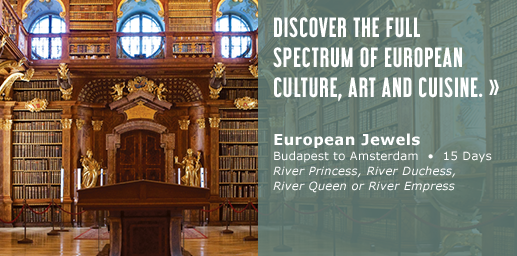 Discover the full spectrum of European culture, art and cuisine.