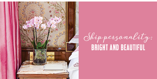 Ship personality: Bright and beautiful