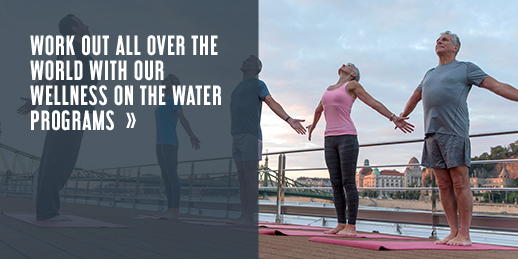 Word out all over the world with our wellness on the water programs